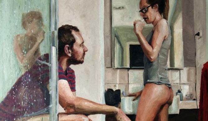 Manžel namaľoval k 6. výročiu maľbu, ktorá zachytáva skutočnú realitu moderného vzťahu. Maľba má už viac ako 850 tisíc videní!