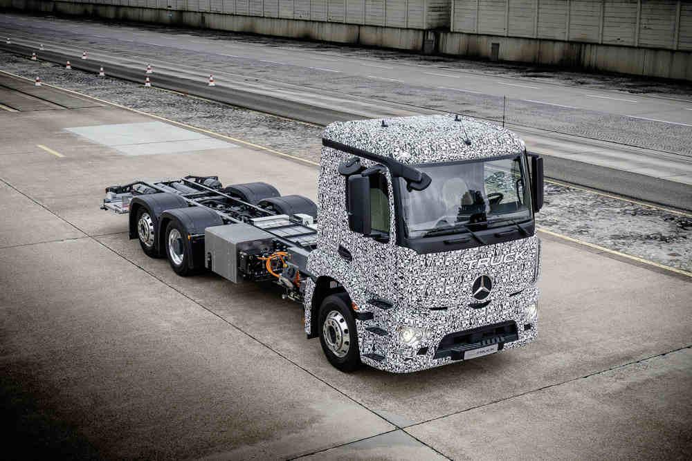 S prvým elektrickým kamiónom na svete prichádza Mercedes!