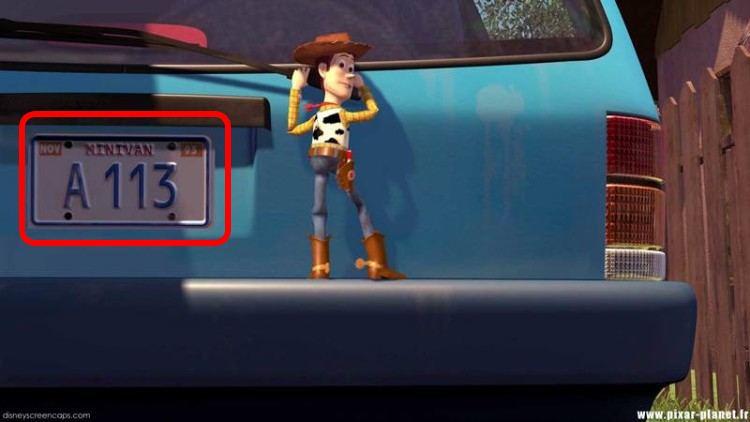 Takmer v každom filme od Disney alebo Pixar môžeš nájsť tajný kód A113. Vieš, čo znamená?