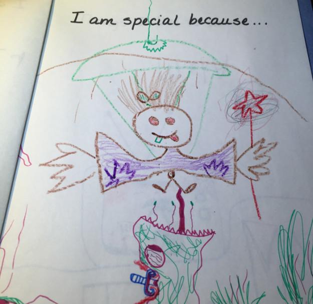 Adam sa inšpiroval svojimi kresbami z detstva a v dospelosti ich prerobil na krásne ilustrácie