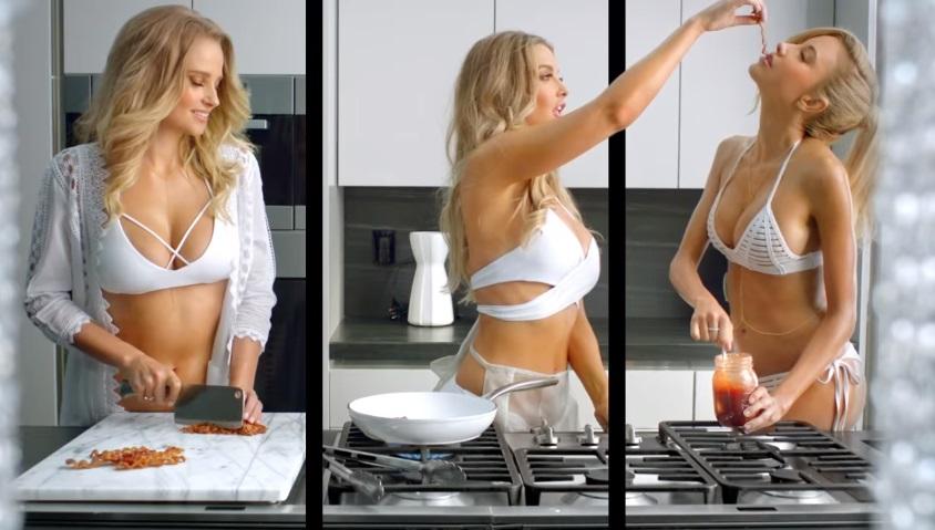 Sexy reklama, pri ktorej nebudeš vedieť, kde sa pozerať. Dáš si burger?