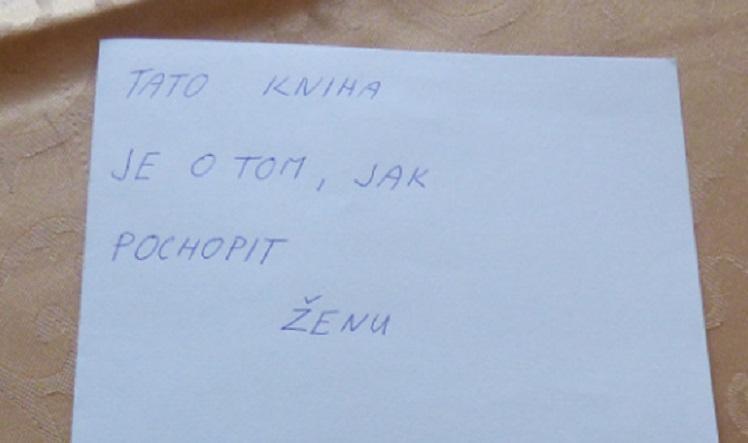 Dvanásťročný Čech napísal knihu o tom, ako pochopiť ženu. Pozri sa, čo obsahuje!