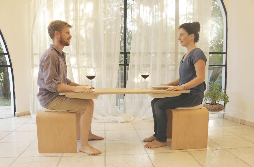 Šialenosť alebo skvelý nápad? Takto vyzerá nový jedálenský stôl, ktorý zlepší vaše vzťahy!