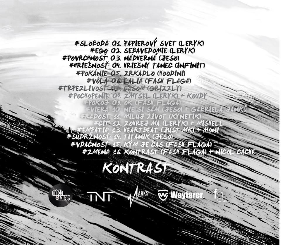 Marks predstavuje oficiálny snippet k albumu Kontrast