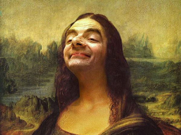 Svetoznáme obrazy, ako ich nepoznáš: Známe tváre vystriedal Mr. Bean
