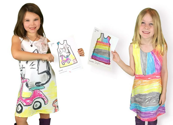 Spoločnosť Picture This umožňuje deťom navrhnúť si vlastné oblečenie.  Sleduj tie výtvory! c66a407e8ae