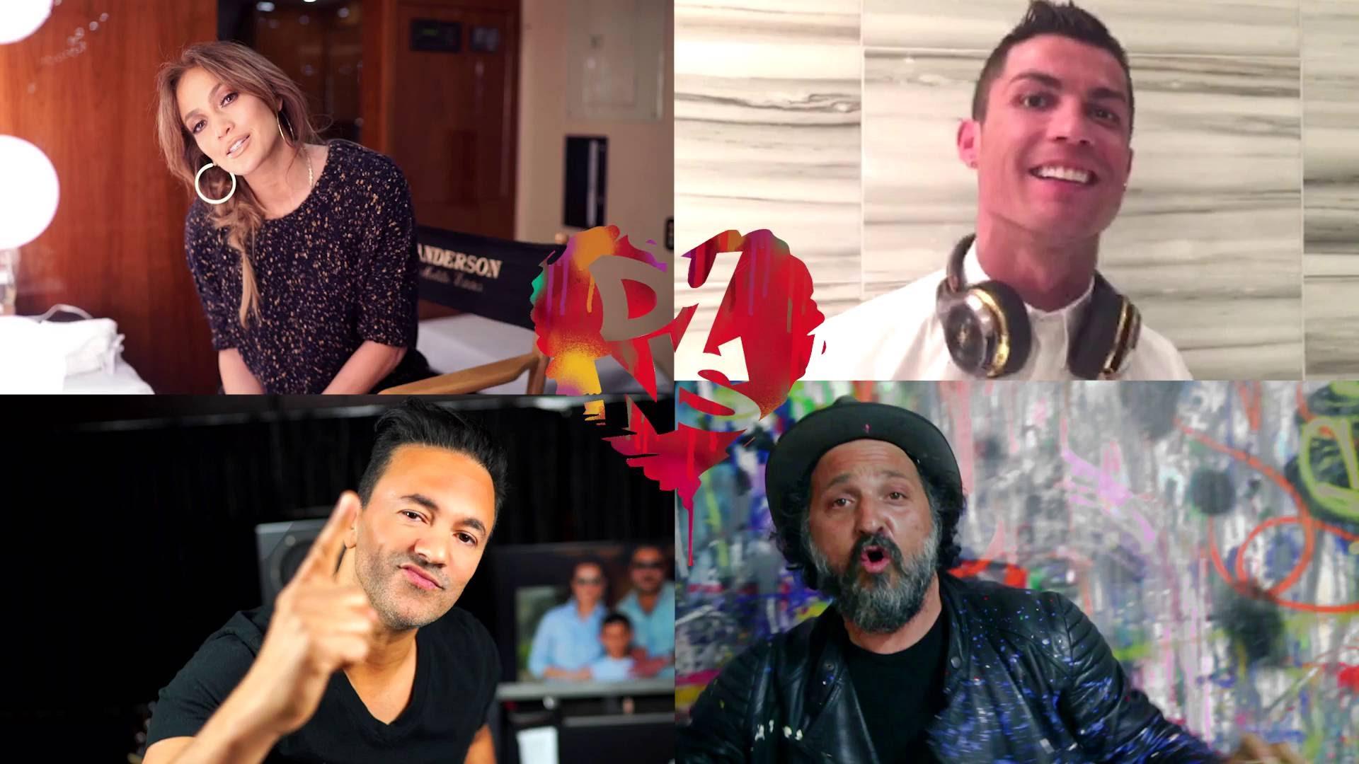 Cristiano Ronaldo, J-LO, Akon, Momo, Shaggy, David Luiz a ďalší v jednom songu! Nemožné? Pozri sa!