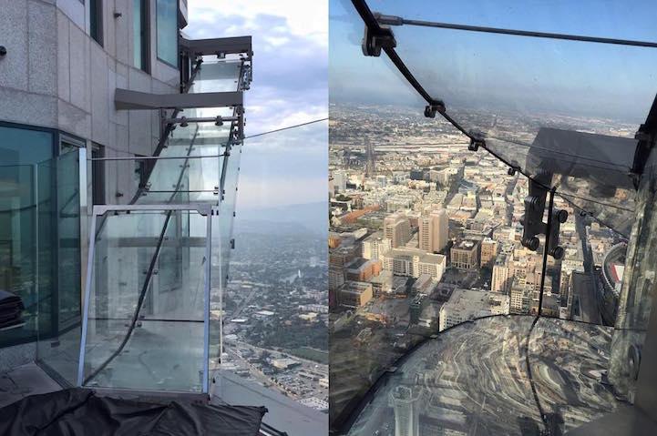Skyslide v Los Angeles pozýva na bláznivú jazdu. Dali by ste sa na to nahovoriť?