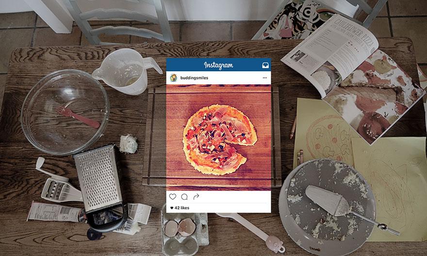 Kampaň Vnímanie vs. Realita: pravda o fotkách jedla na Instagrame