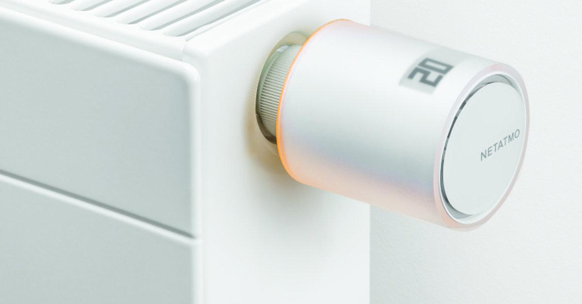 Zmeňte svoj radiátor na inteligentný pomocou Netatmo vetilu!