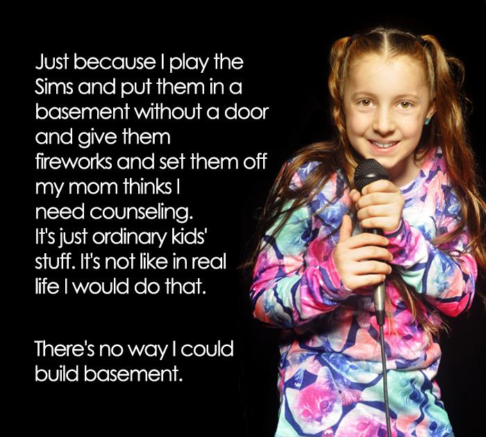 Iba 11-ročná stand-up komička zabáva svojimi výstupmi dospelých!