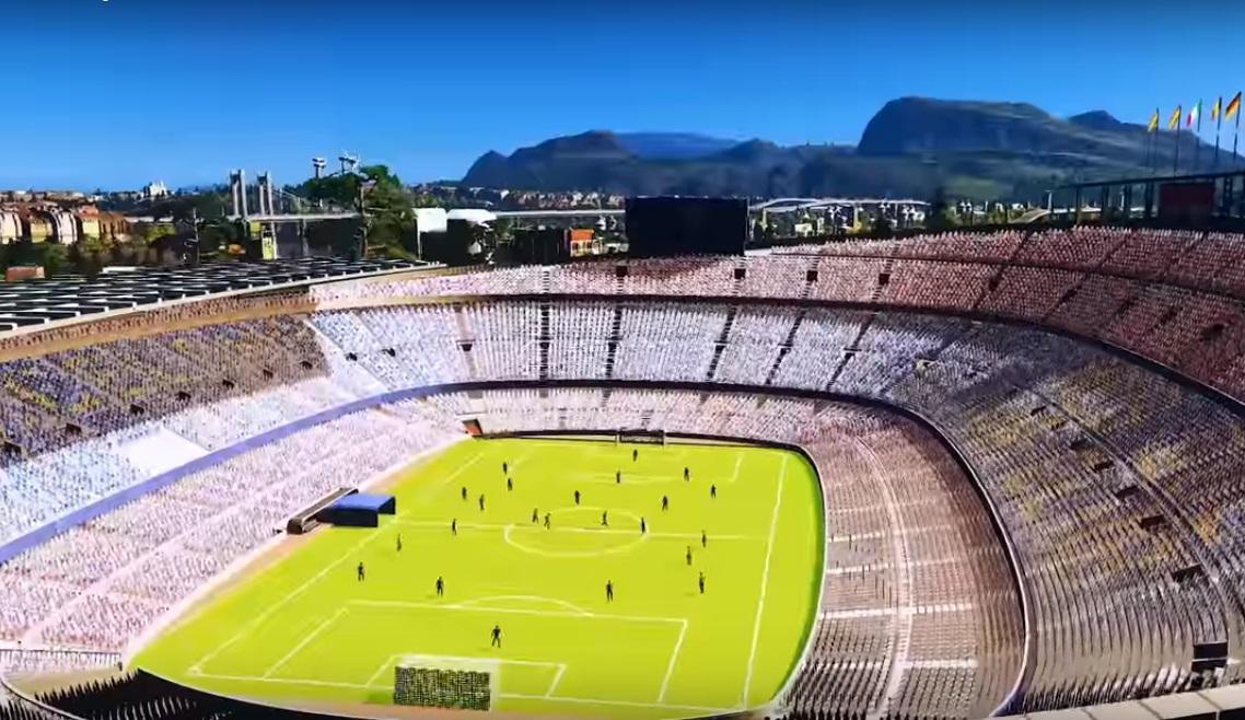Postav si niektorý z najslávnejších štadiónov sveta alebo zrovnaj mesto so zemou živelnou katastrofou!