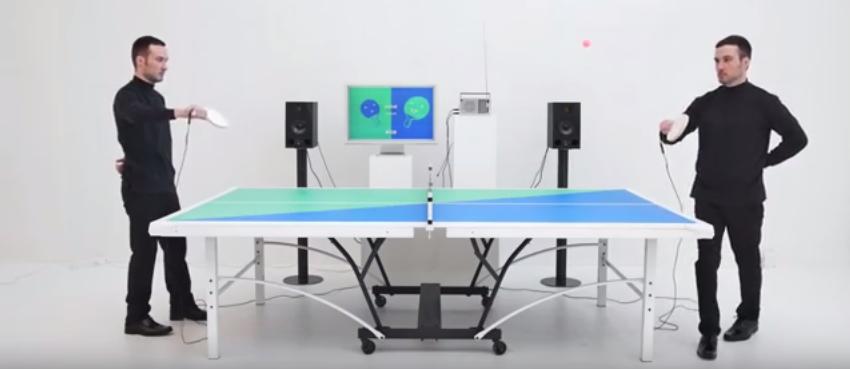 Pingpongový stôl, ktorý hrá hudbu do rytmu hry? Sci-fi? Nie, REALITA!
