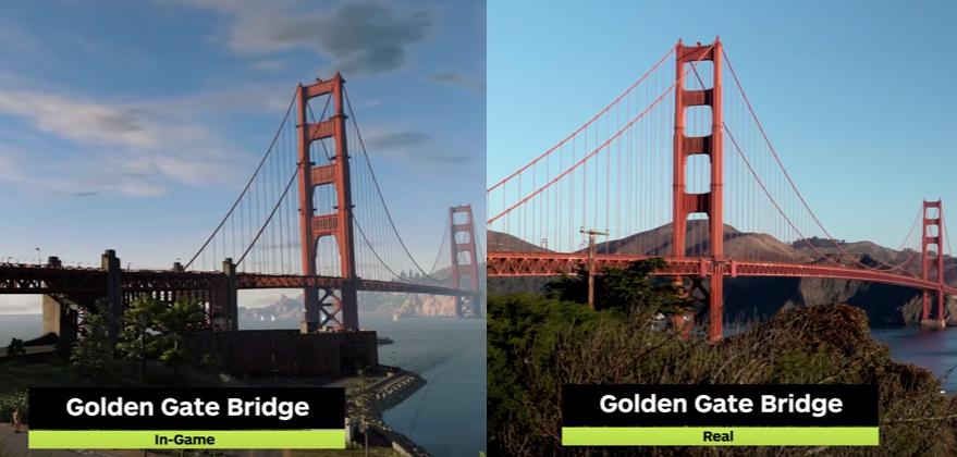 Watch Dogs 2 sa odohráva v San Franciscu. Ako vyzerá reálne mesto v porovnaní s hrou?