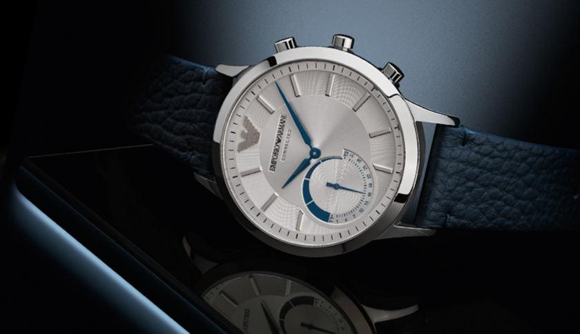 Emporio Armani a jeho luxusné inteligentné hodinky sú tu!