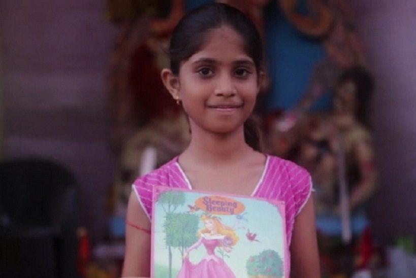 Má iba 9 rokov a spravila skutočne veľkú vec! Otvorila knižnicu pre chudobné deti v Indii!