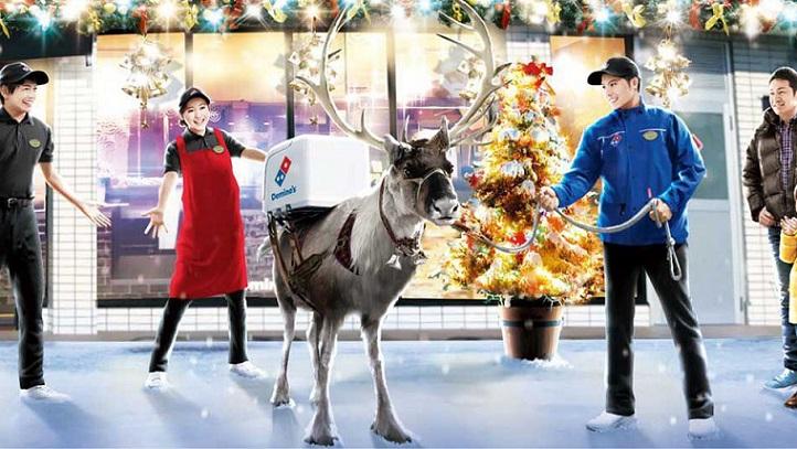 Chcel by si, aby ti pizzu doručil v čase Vianoc sob? Odsťahuj sa do Japonska, tam je to realita!
