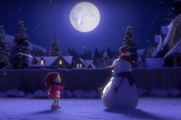 """Krátky film o malej Lily a snehuliakovi vás v tomto období nenechá chladnými, ale """"roztopí"""" aj vaše srdce"""