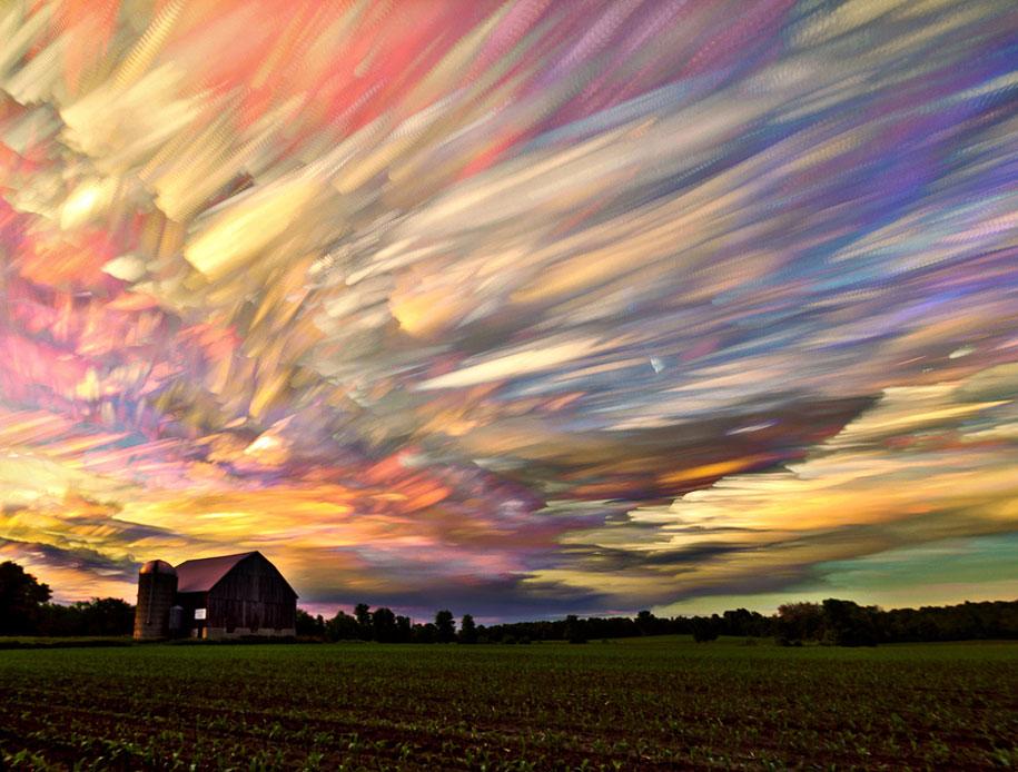 Milovníci prírody pozor! Takto krásne sformované oblaky ste (možno) ešte nevideli