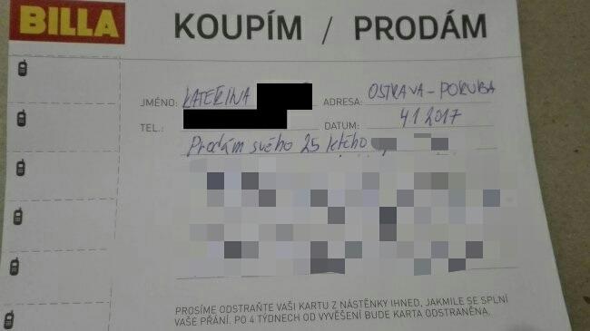 V susednom Česku sa objavil jedinečný inzerát, ktorý sa stal okamžite hitom! Čo môžeš získať za 1 korunu?!