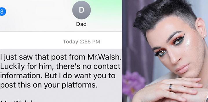 Otec novej tváre značky Maybelline, Mannyho Gutierreza, poriadne zotrel homofóbov! Prečítaj si, čo napísal