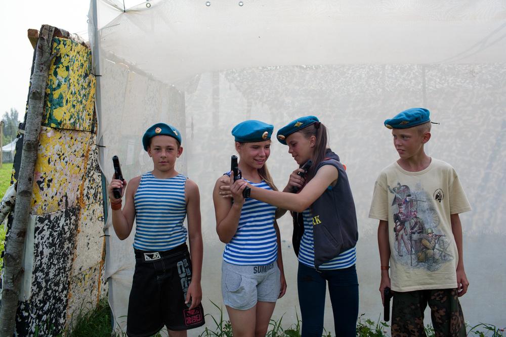 Namiesto hračiek zbrane: Rusko sa snaží vychovať novú generáciu vojakov