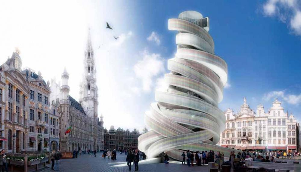 Tieto budovy s futuristickým dizajnom čoskoro uzrú svetlo sveta a možno aj miesto v tvojom cestovateľskom plánovníku