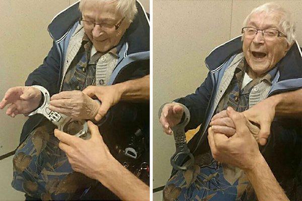 99-ročná starenka mala zvláštny tajný sen. Zatkli ju preto policajti