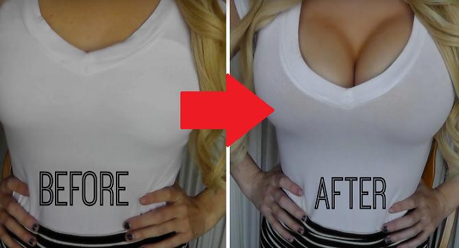 Chceš väčšie prsia a to bez chirurgického zákroku? Vďaka tomuto si ich prirodzene zväčšíš aj o 2 čísla!
