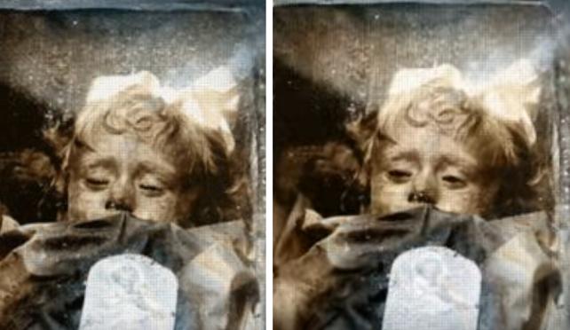 100-ročná múmia malého dievčatka stále žmurká. Záhada malej Rosalie trápi celý svet