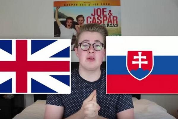 Slovenčina nie je až taký ľahký jazyk! Svoje o tom vie aj anglický youtuber, ktorý sa pokúsil prečítať niektoré slovenské jazykolamy