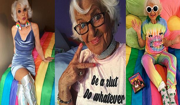 Starenka je hviezdou internetu kvôli tomu, ako si užíva svoj život. Máš sa od nej čo učiť!