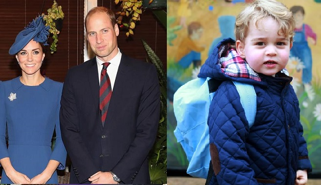 William a Kate búrajú tradície! Princ George bude navštevovať inú školu než jeho predkovia