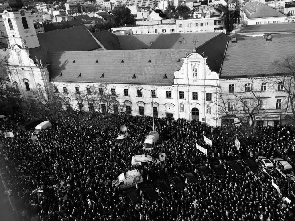 """Poslanec Ľubomír Galko: """"Spolupráca SMERU a ĽSNS je odhalená. Ukázal to protikorupčný pochod"""""""