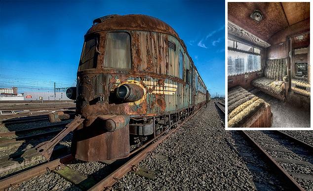 ORIENT EXPRESS: Kedysi bol synonymom totálneho prepychu, dnes hrdzavie na malom nádraží