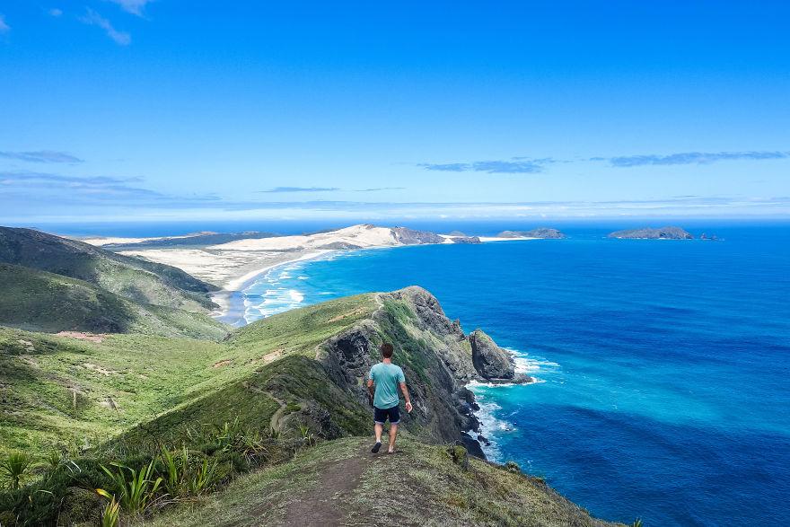 Tento cestovateľ prešiel 8-tisíc kilometrov po Novom Zélande. Presuňte sa prostredníctvom jeho záberov do tejto krásnej krajiny