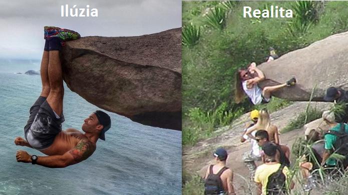 Fotomontáž, ktorá ohromila svet: Týpek necvičil na útese, ale len pár metrov nad zemou! Aj takto vzniká FAKE!