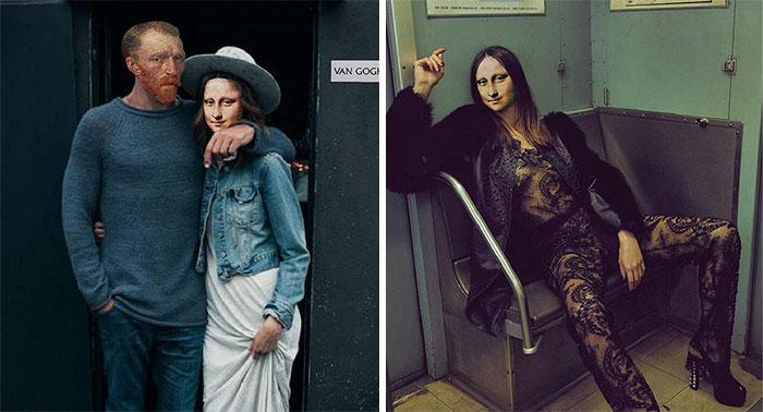 Takto by to vyzeralo, keby boli historické ikony umenia hipstermi. Čo na ne poviete?