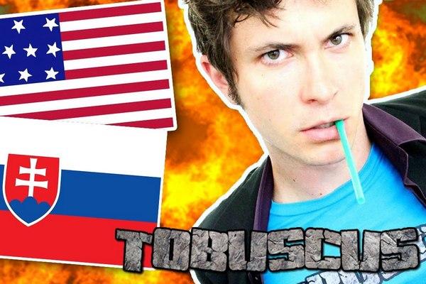 Anglický youtuber so 6 miliónmi odoberateľov sa pokúsil o majstrovský kúsok. Jeho úlohou bolo vysloviť 8 slovenských jazykolamov. Takto mu to išlo!