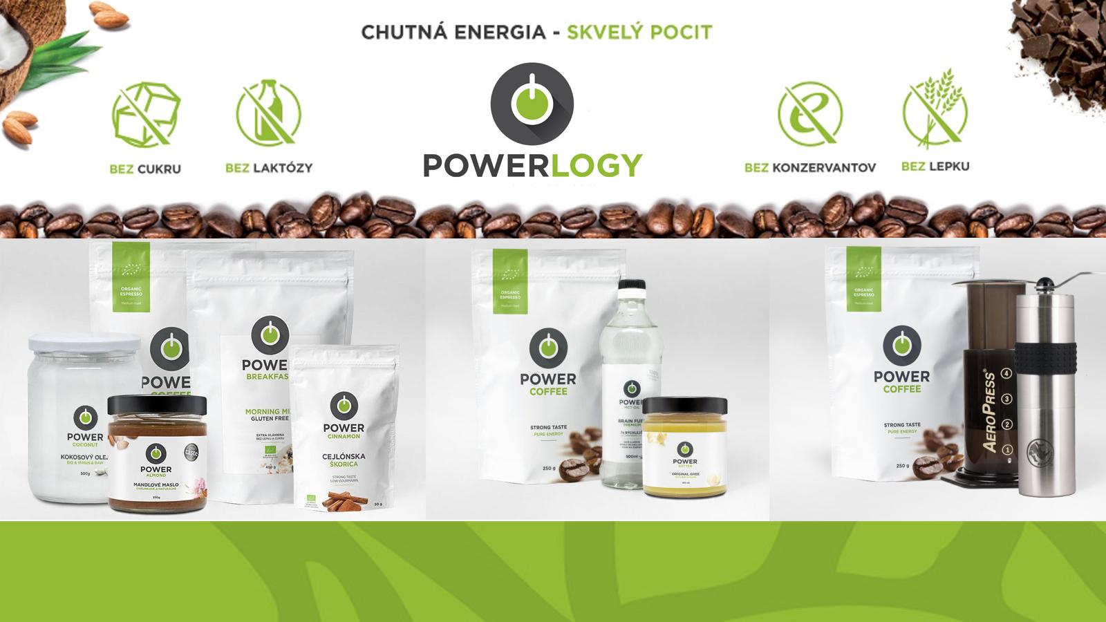 Potrpíte si na kvalitnej výžive? POWERLOGY predstavuje zdravé a podstivo vyrábané produkty pre každodenný život