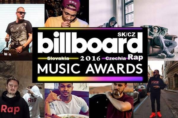 Víťazi v Billboard SK/CZ Rap Music Awards 2016: Toto je najlepšia skladba!