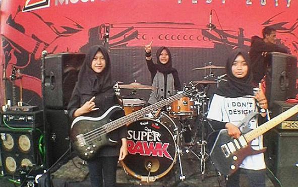 VOICE OF BACEPROT: Len 15-ročné moslimské rockerky, ktoré vypredávajú koncerty i festivaly