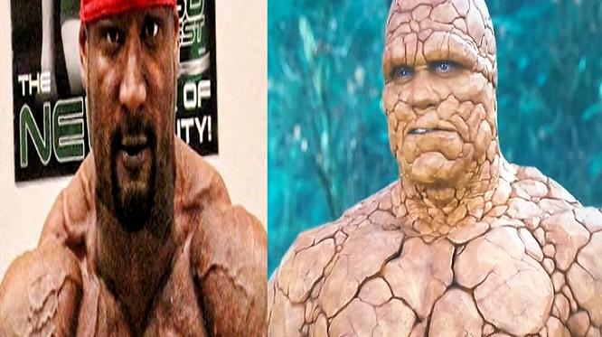 Nelegálne steroidy premenili kulturistu v monštrum! Veď vyzerá ako The Thing z Fantastickej štvorky!