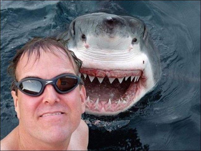 Už len pri pohľade na tieto fotografie vám príde nevoľno. Toto je 14 extrémnych selfie, z ktorých behá mráz po chrbte