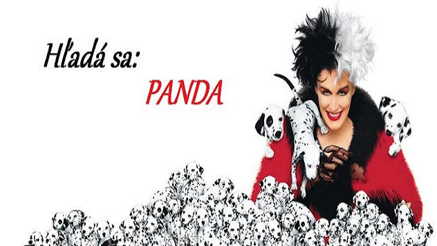 101 dalmatíncov a len 1 panda, ktorú dokáže nájsť len 5% ľudí! Patríš medzi nich?