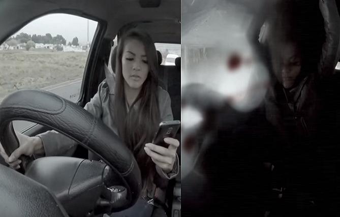 VIDEO, z ktorého budeš mať zimomriavky: Po týchto záberoch viac mobil za volantom do rúk nevezmeš