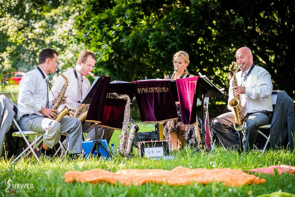 Aj v lete pokračuje unikátne saxofónové kvarteto Saxophone Syncopators vo svojom koncertnom turné po Slovensku