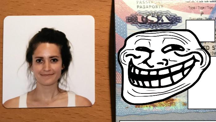 Mladá žena potrebovala nový pas. Keď jej ho úrady vydali, nedokázala zastaviť smiech
