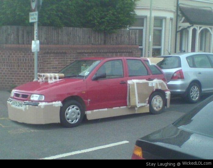 Neúspešný tuning #1: Ľudská kreativita nemá hraníc, čo dokazujú aj niektorí ľudia tuningovaním svojich áut