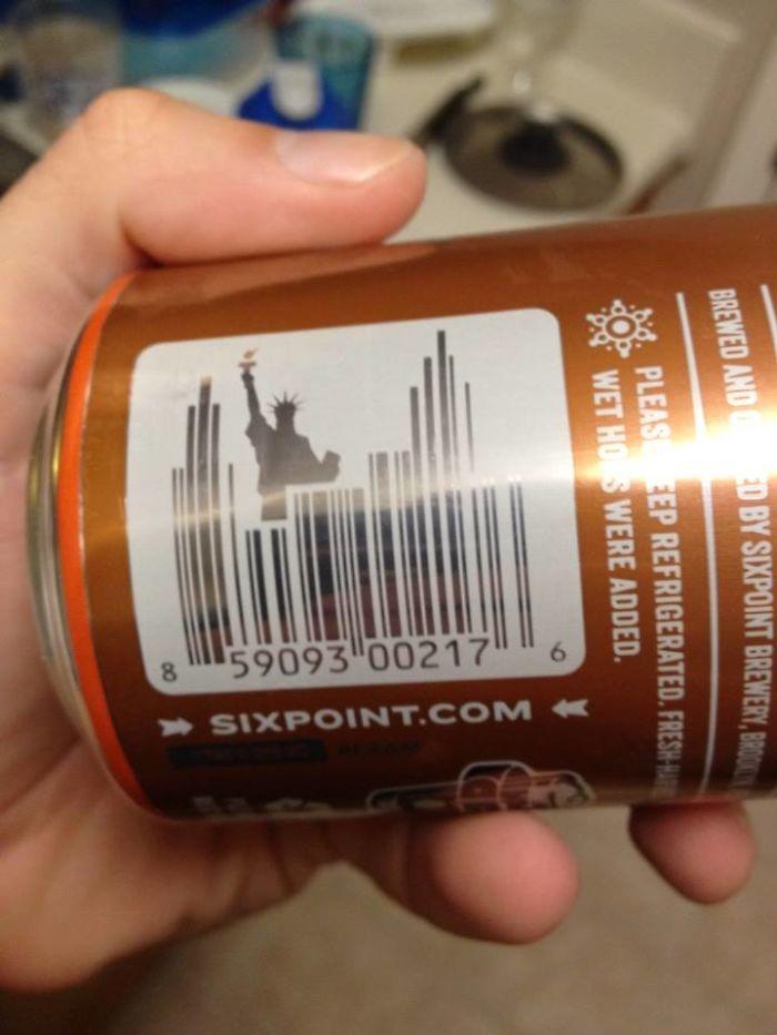 Čiarové kódy na produktoch ako ich nepoznáte: Takto to dopadne, keď sa umelec odviaže